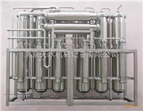 新型双管板多效蒸馏水机