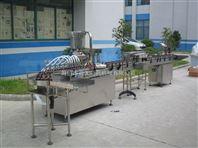 100ml玻璃瓶直线膏剂生产线