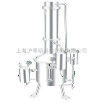 不銹鋼塔式蒸汽重蒸餾水器 SHZ32-400上海申安蒸餾水器