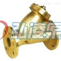 供應SG41W-16T銅閥門,黃銅Y型過濾器,黃銅法蘭過濾閥價格,黃銅法蘭過濾閥結構圖
