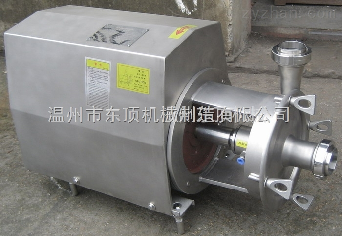 双密封高温卫生泵