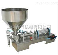 MH-G1301半自动卧式气动膏体灌装机