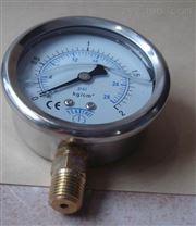 不锈钢0-50kpa压力表