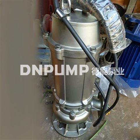 不锈钢耐腐蚀排污泵