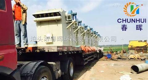 潍坊一备一用2吨电炉除尘器移动旋转吸尘罩不影响行车工作范围