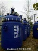 二手10立方中国太极产外夹套加热搪瓷反应釜