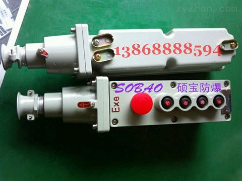 防爆行车控制按钮 防爆电动葫芦按钮LA5817