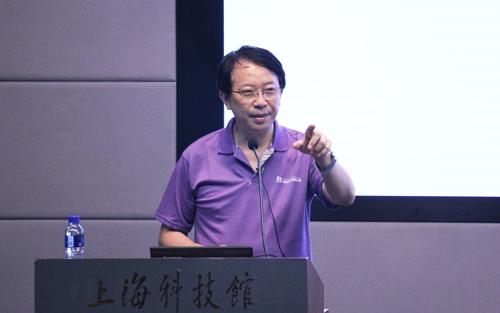 贺林院士在上海科普大讲坛图片